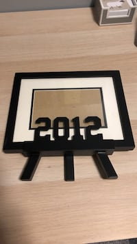 Black and white wooden picture frame 3690 km