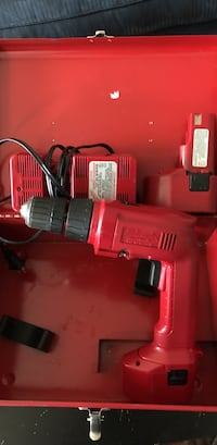 red and black cordless power drill Manassas, 20109