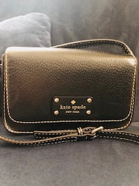 Black Leather Kate Spade Bag  Alexandria, 22306