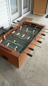 brown and black foosball table Ashville, 43103