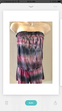 Adorable T Party romper in great condition. Sz S Las Vegas, 89138