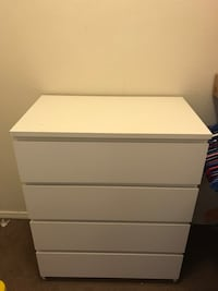 white wooden 4-drawer chest Las Cruces, 88011