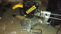 black and yellow DeWalt miter saw Anderson, 46016