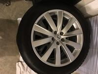 Volvo XC90 complete Winter tire set.!! Clarksburg