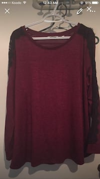New woman top size 2x