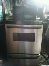 stainless steel and black Electric range oven Washington, 20002