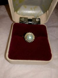 14k Gold Pearl Ring Sz. 5.5 Montgomery Village, 20886