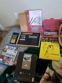 Drawing kit and books Edmonton, T6R 0S3