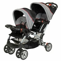 Baby Trend Sit N Stand Tandem Double Stoller-Like New Seattle, 98115