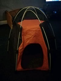 baby's red and black stroller West Yorkshire, WF16 9BZ