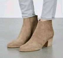 New in box Size 5 VINCE suede boots