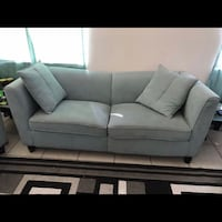 Two Piece Couch Set With Pillows Las Vegas, 89107
