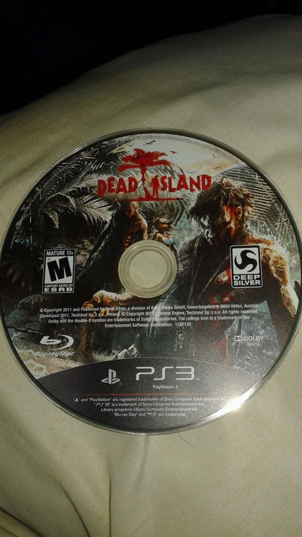 Dead Island PS3 Game 2