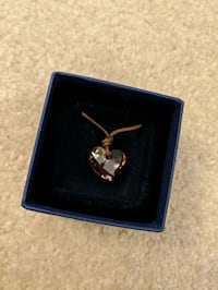 Authentic Swarovski Mini heart pendant
