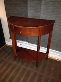2 tier Console table with one drawer