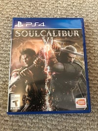 Soul calibur 6 ps4 Brampton, L6V 1N1