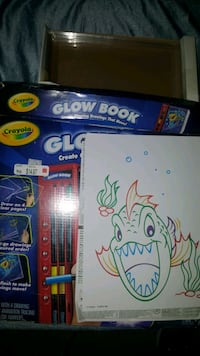 GLOW BOOK (never used)