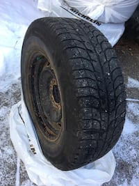 4 Good Condition -Michelin Latitude X-Ice winter tires 265/65R17 Calgary, T3A 5X6