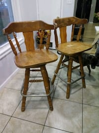 two brown wooden windsor chairs Baltimore, 21205