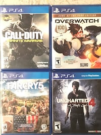 Ps4 games  Commerce City, 80022
