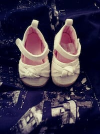 0-3 month used baby girl sandals 4722 mi