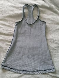 Lululemon black and white tank top Calgary, T3B 0P5
