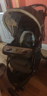 baby's black and gray stroller Baltimore, 21223