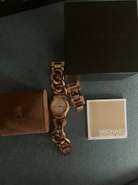 Michael Kors rose gold watch Brampton, L6Y 2Y4