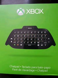 Xbox One Chatpad with Chat headset Toronto, M9W 6R9