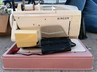 white and blue Singer electric sewing machine Alburtis, 18011