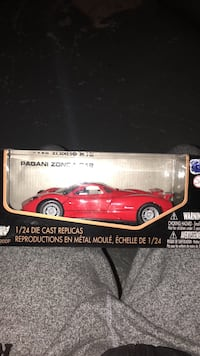 red and white die-cast car model box Oakville, L6M 2T4