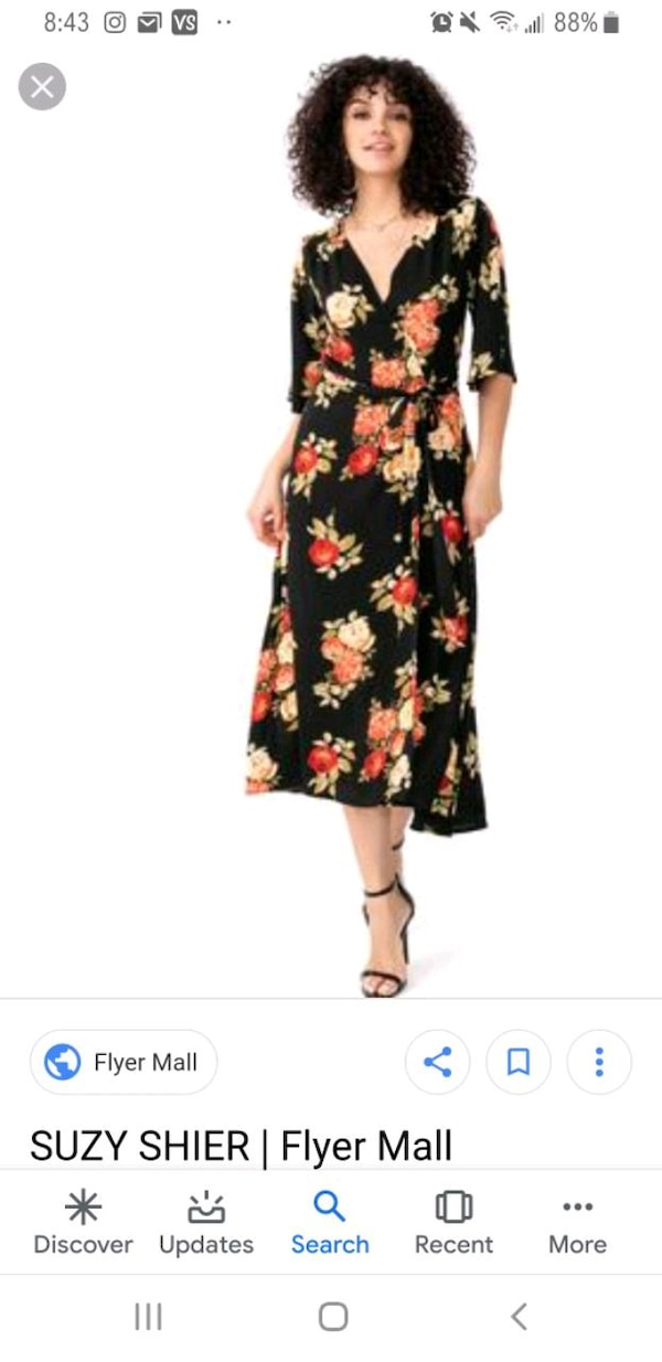 women's black and red floral sleeveless dress 1adad972-2e32-431c-bf33-5bcafeabf3a0