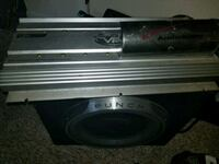 """12"""" Rockford Fosgate P3 with Box and Lanzar Amp Inverness, 34452"""