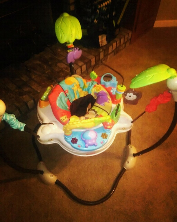 d9b22eb5ce66 Used Fisher-Price Luv U Zoo Jumperoo for sale in Dawsonville - letgo