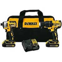 DeWalt cordless hand drill and impact driver with bag Lindale, 30147