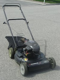 """MUST SELL TODAY 22"""" MURRAY 5.5 HP GAS LAWNMOWER + REAR BAG!"""