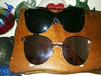black and brown framed sunglasses Lyndon, 40242
