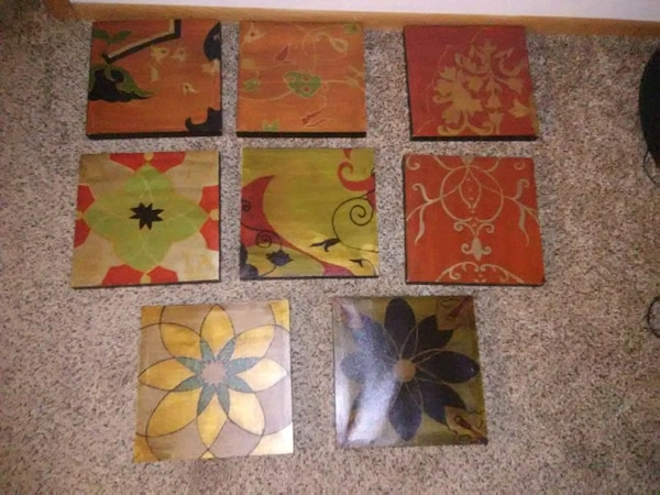 Set of 8 pictures
