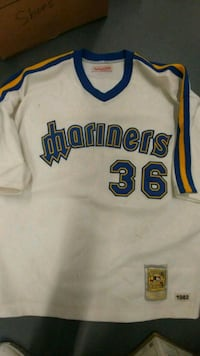 Authentic Vintage Mitchell&Ness MARINERS JERSEY#36 Myrtle Beach, 29579