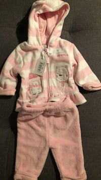 3 month baby fleece outfit