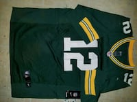 green bay packers # 12 Rogers Jersey Houston, 77020