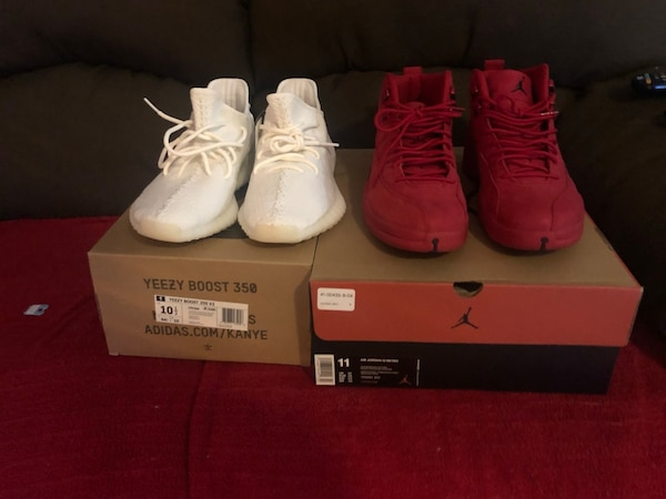 fd12656f6c5 Used pair of white Air Jordan 11's with box for sale in Cutler Bay ...