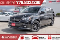 2017 Dodge Grand Caravan SXT Premium Plus - Perfect Family Car