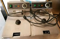 Commercial Dual Tank Electric Fryer Albany, 31707