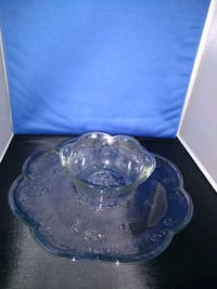 clear glass bowl with lid Londonderry, 03053