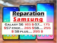 REPARATION DES IPHONE 6 7 8 SAMSUNG S6 7 8 IPAD AI
