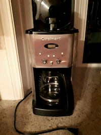 stainless steel and black Cuisinart coffeemaker Calgary, T2J 4P2