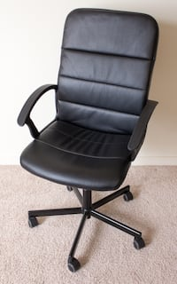 Black office desk chair San Francisco, 94105