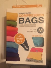 2 Space Mates Compression Bags box