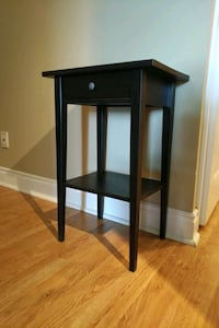 Brown bedside table with drawer  Toronto, M5R 1C8